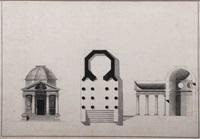 un temple octogonal (design) by giacomo quarenghi