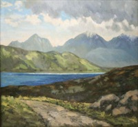 near delphi, connemara by mabel young