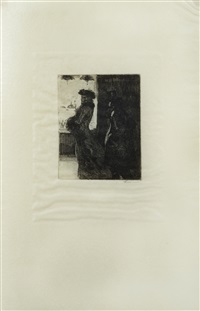 elle (la mort) (set of 26) by albert besnard