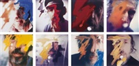 eight self-portraits (set of 8) by richard hamilton