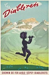 les diablerets by martin peikert