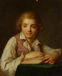 portrait de jean-rené vestier by antoine vestier