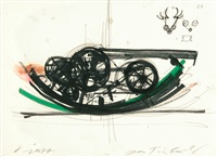 dr spritzer (from fasnachts-brunnen basel) by jean tinguely