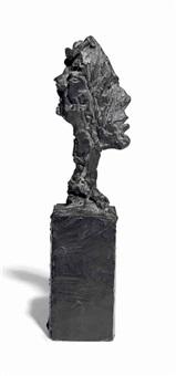 tête de diego sur socle by alberto giacometti