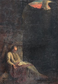st. paul in prison in his last hours by anonymous-greek