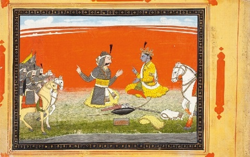 anonymous. pahari. around 1800