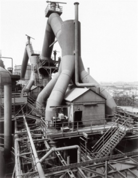 hochhöfen blast furnaces by bernd and hilla becher