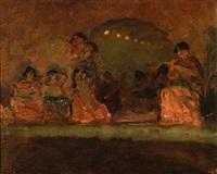 dancing scene from paris by julius paulsen