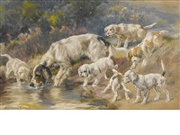 watering hole by edmund henry osthaus