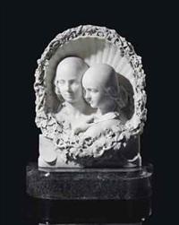 feodorowna and sophia wellesley by henri joseph françois, baron de triqueti