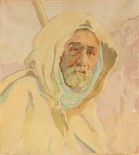 portret beduina by aleksander laszenko