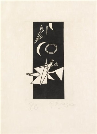 le tir a larc by georges braque