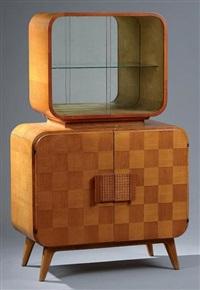 bar cabinet modèle s-127 by jindrich halabala