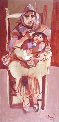 maternidad by carlos alonso