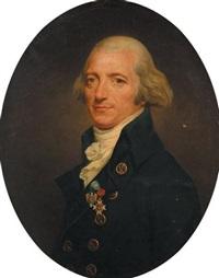portrait du général gaultier de murnan portant l'ordre des cincinati by joseph boze