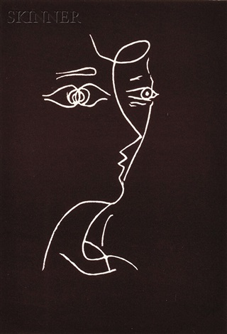 untitled profile by georges braque