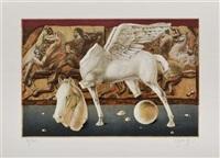 de la carpeta el caballo en papel by esteban azamar