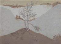 edge of dunes by milton avery