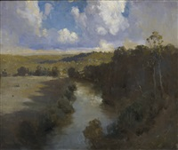 shadowed river by theodore penleigh boyd