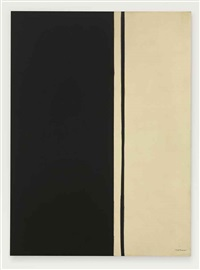 black fire i by barnett newman