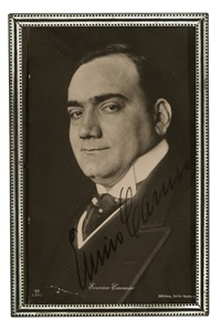 enrico caruso by rudolph duhrkoop