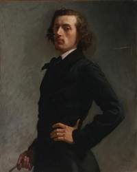 portrait of monsieur allard by léon joseph florentin bonnat