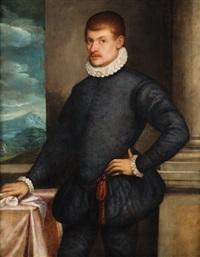 ritratto di giovane gentiluomo by domenico tintoretto
