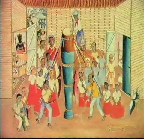 bapitism of the assator drum by rigaud benoit