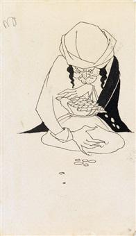 a miser by aubrey vincent beardsley