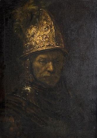 Der Mann Mit Dem Goldhelm After Rembrandt Von Hermann Dörmann Auf Artnet