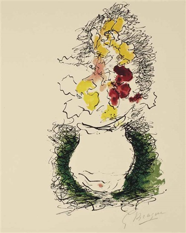 le bouquet by georges braque