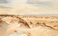dunes by michael peter ancher