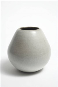 pear form vase by rupert j. deese