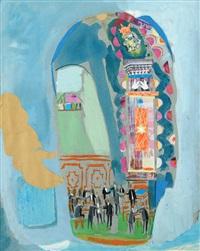 synagogue by nachum gutman