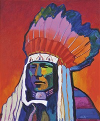 chief rain in the face by john nieto