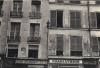 rue jacob mit 12 fenstern by ilse bing