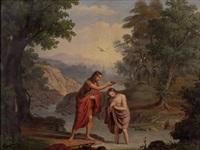 taufe jesu by josef arnold the elder