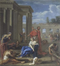 le sacrifice d'iphigénie (?) by jean le blond
