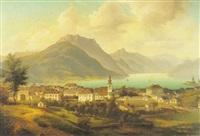 gmunden by friedrich wilhelm jankowski