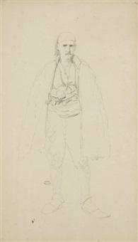 portrait d'homme des balkans by théodore valerio