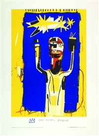 welcoming jeers by jean-michel basquiat