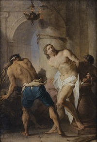 la flagellation du christ by pierre hubert subleyras