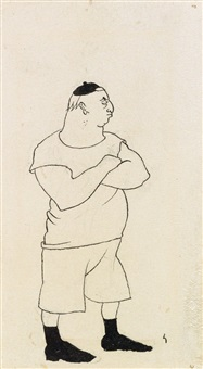 a young tough by aubrey vincent beardsley