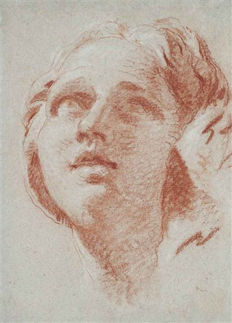 the head of a woman by giovanni battista tiepolo