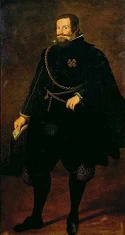 retrato del conde duque de olivares by diego rodríguez de silva y velásquez