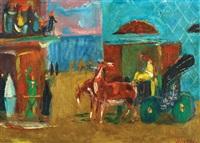 carriage in tel aviv by nachum gutman