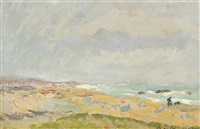 la plage by maxime maufra