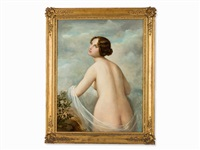classical nude by natale schiavoni