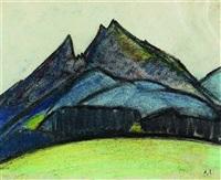 blaue berge by käthe loewenthal