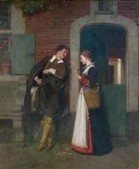 conversation galante by florent willems